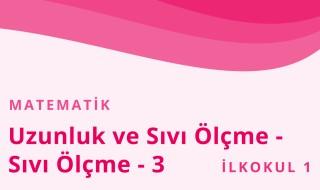 1. Sınıf Matematik 33.Bölüm