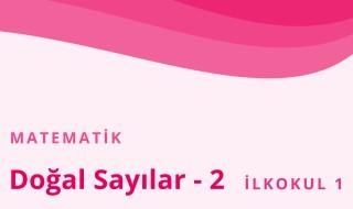 1. Sınıf Matematik 37.Bölüm