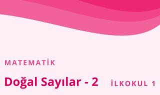 1. Sınıf Matematik 48.Bölüm