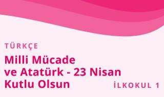 1. Sınıf Türkçe 15.Bölüm