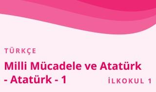 1. Sınıf Türkçe 18.Bölüm