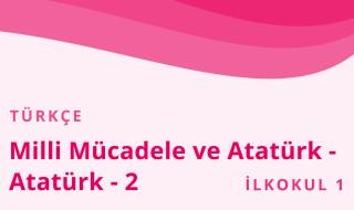1. Sınıf Türkçe 19.Bölüm