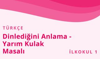 1. Sınıf Türkçe 32.Bölüm