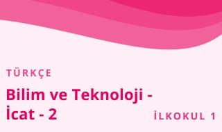 1. Sınıf Türkçe 37.Bölüm