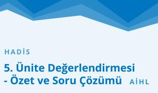 10. Sınıf Anadolu İmam Hatip 17.Bölüm
