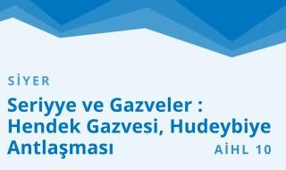 10. Sınıf Anadolu İmam Hatip 19.Bölüm