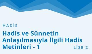10. Sınıf Anadolu İmam Hatip 38.Bölüm