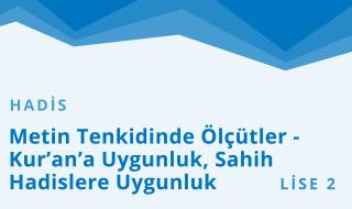 10. Sınıf Anadolu İmam Hatip 4.Bölüm