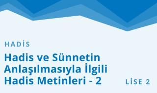 10. Sınıf Anadolu İmam Hatip 42.Bölüm