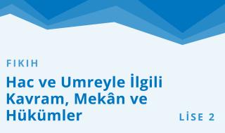 10. Sınıf Anadolu İmam Hatip 5.Bölüm
