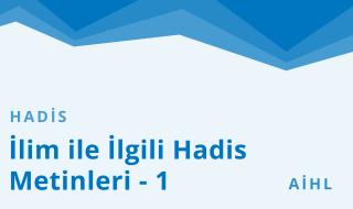 10. Sınıf Anadolu İmam Hatip 9.Bölüm