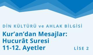 10. Sınıf Din Kültürü ve Ahlak Bilgisi 3.Bölüm