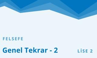 10. Sınıf Felsefe 11.Bölüm
