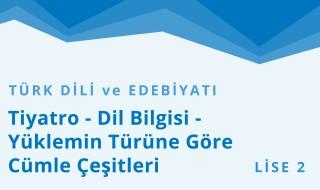 10. Sınıf Türk Dili ve Edebiyatı 10.Bölüm