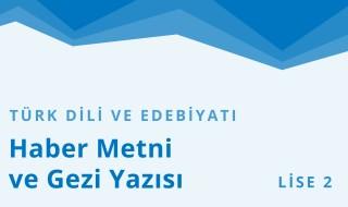 10. Sınıf Türk Dili ve Edebiyatı 33.Bölüm