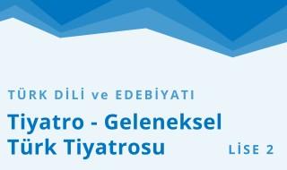 10. Sınıf Türk Dili ve Edebiyatı 7.Bölüm