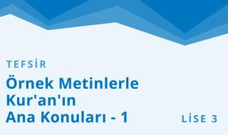 11. Sınıf Anadolu İmam Hatip 10.Bölüm