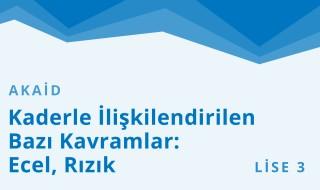 11. Sınıf Anadolu İmam Hatip 27.Bölüm