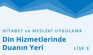 11. Sınıf Anadolu İmam Hatip 3.Bölüm