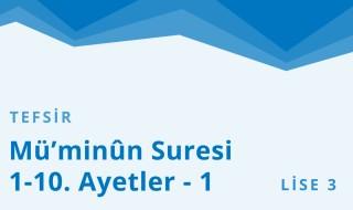 11. Sınıf Anadolu İmam Hatip 32.Bölüm
