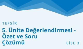 11. Sınıf Anadolu İmam Hatip 48.Bölüm