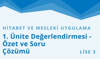 11. Sınıf Anadolu İmam Hatip 49.Bölüm