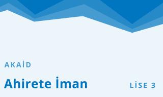 11. Sınıf Anadolu İmam Hatip 8.Bölüm