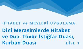 11. Sınıf Anadolu İmam Hatip 9.Bölüm