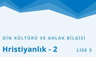 11. Sınıf Din Kültürü ve Ahlak Bilgisi 10.Bölüm