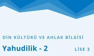 11. Sınıf Din Kültürü ve Ahlak Bilgisi 8.Bölüm