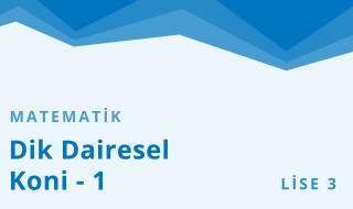 11. Sınıf Matematik 15.Bölüm