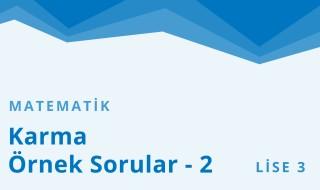 11. Sınıf Matematik 22.Bölüm