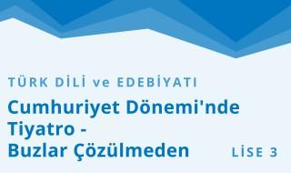 11. Sınıf Türk Dili ve Edebiyatı 10.Bölüm