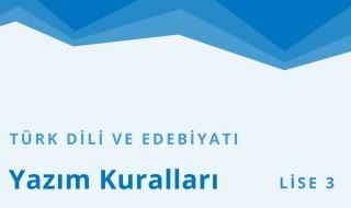 11. Sınıf Türk Dili ve Edebiyatı 13.Bölüm