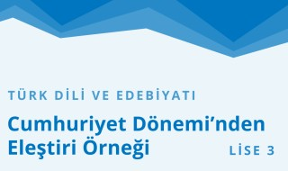 11. Sınıf Türk Dili ve Edebiyatı 16.Bölüm