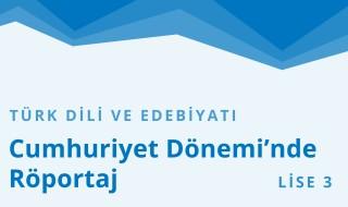 11. Sınıf Türk Dili ve Edebiyatı 22.Bölüm