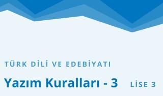 11. Sınıf Türk Dili ve Edebiyatı 23.Bölüm