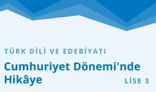 11. Sınıf Türk Dili ve Edebiyatı 26.Bölüm