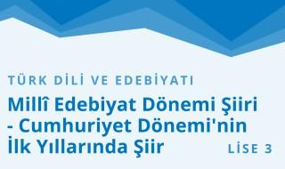11. Sınıf Türk Dili ve Edebiyatı 28.Bölüm