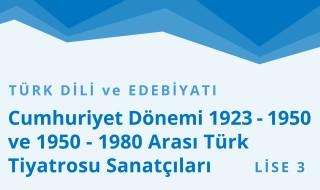 11. Sınıf Türk Dili ve Edebiyatı 7.Bölüm