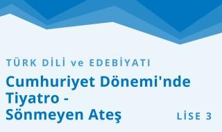11. Sınıf Türk Dili ve Edebiyatı 9.Bölüm