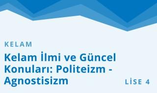 12. Sınıf Anadolu İmam Hatip 19.Bölüm