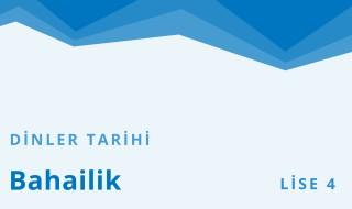 12. Sınıf Anadolu İmam Hatip 28.Bölüm