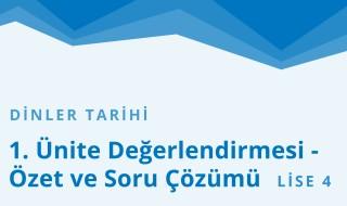 12. Sınıf Anadolu İmam Hatip 36.Bölüm