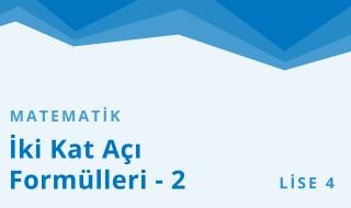 12. Sınıf Matematik 30.Bölüm