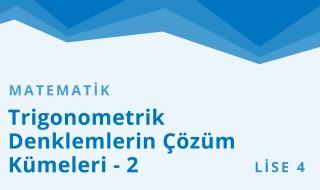 12. Sınıf Matematik 36.Bölüm