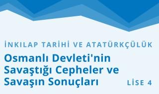 12. Sınıf T.C. İnkılap Tarihi ve Atatürkçülük 10.Bölüm