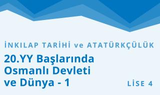 12. Sınıf T.C. İnkılap Tarihi ve Atatürkçülük 2.Bölüm