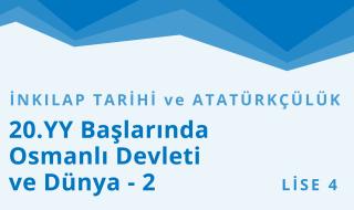 12. Sınıf T.C. İnkılap Tarihi ve Atatürkçülük 4.Bölüm