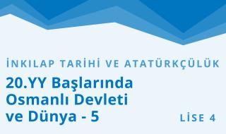 12. Sınıf T.C. İnkılap Tarihi ve Atatürkçülük 7.Bölüm